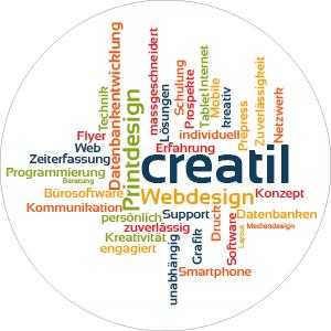 creatil – Webdesign Printdesign und Bürosoftware