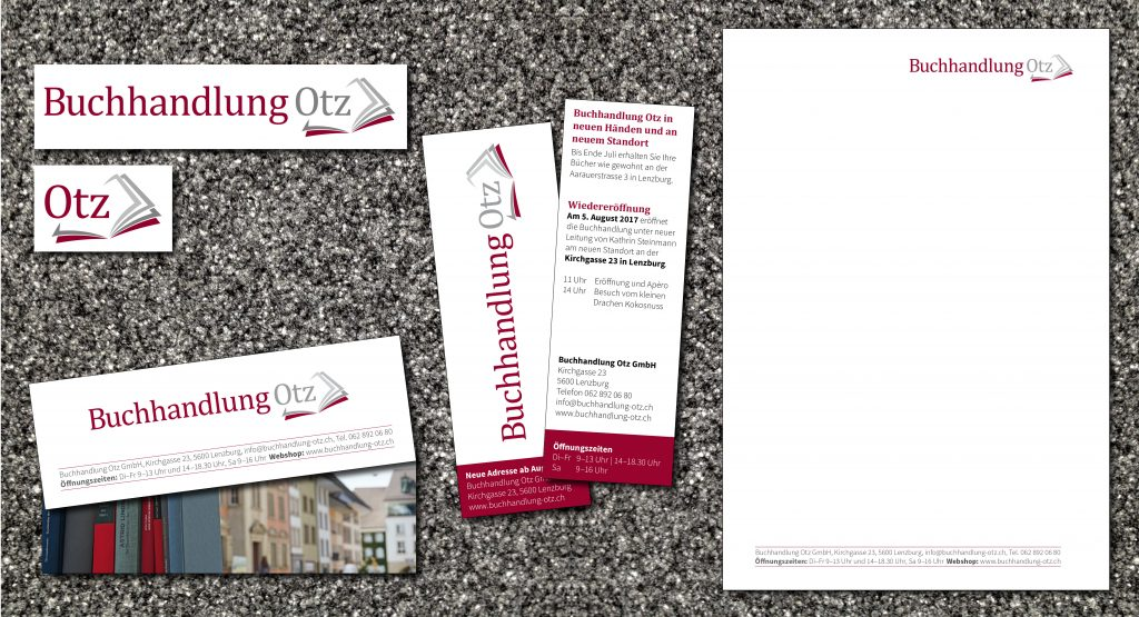 Logo, Flyer, Briefpapier