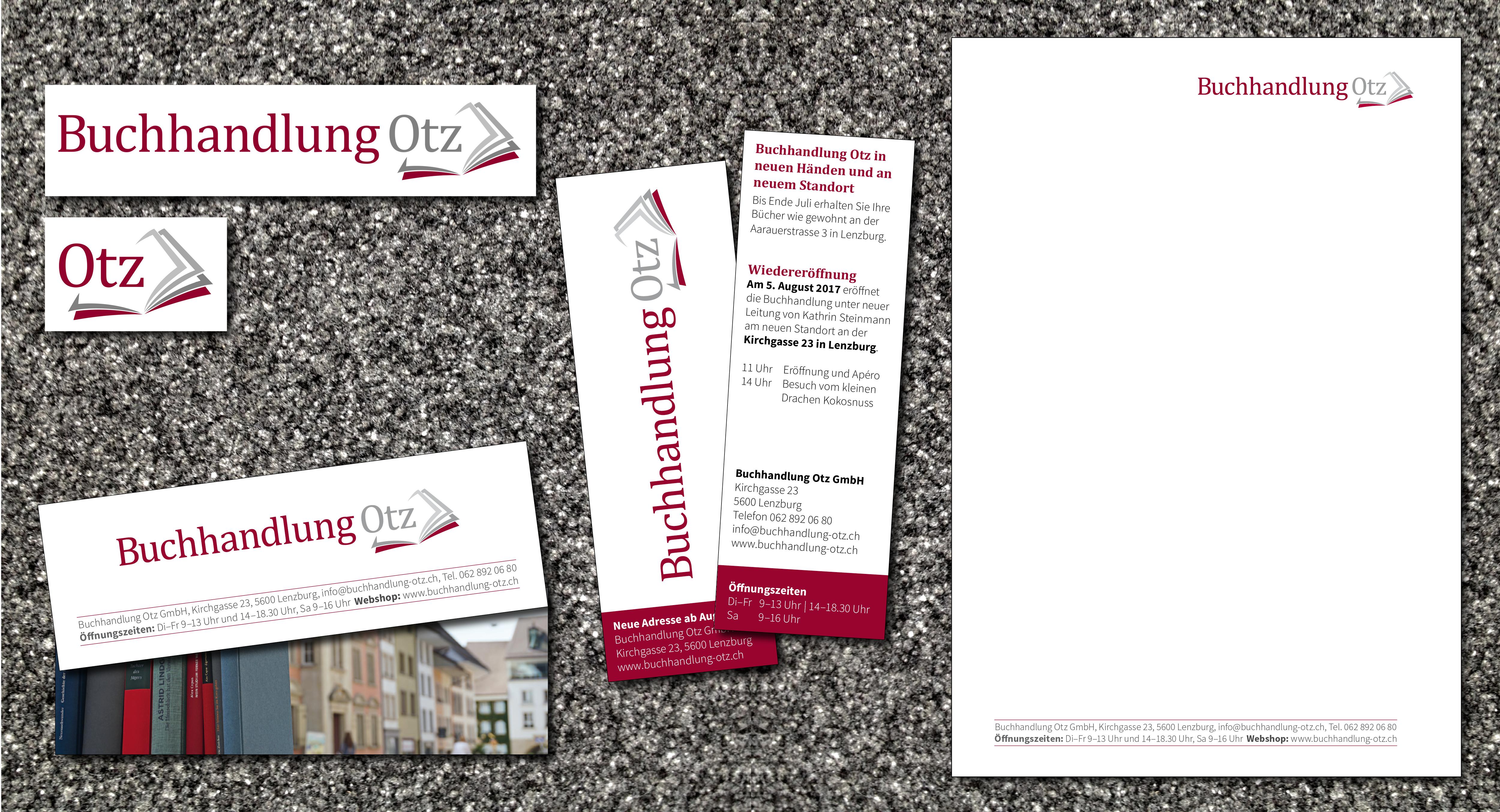 Logo, Flyer, Briefpapier