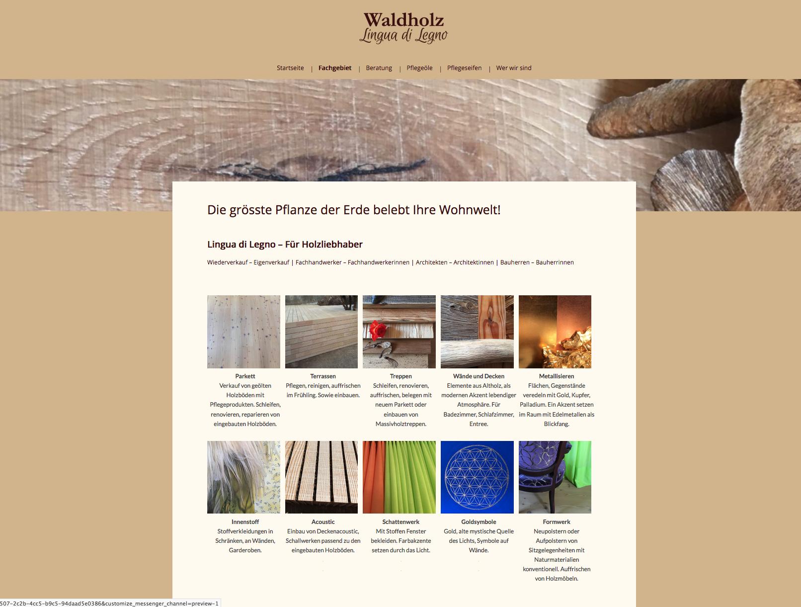 Waldholz – Marianne Aeschbach