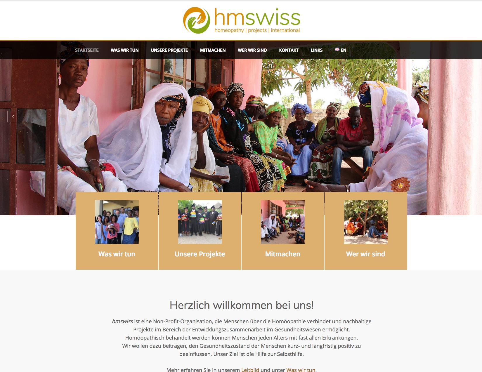 hmswiss, Non-Profit-Organisation im Gesundheitsbereich
